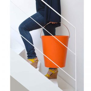 Moving Bucket Stool