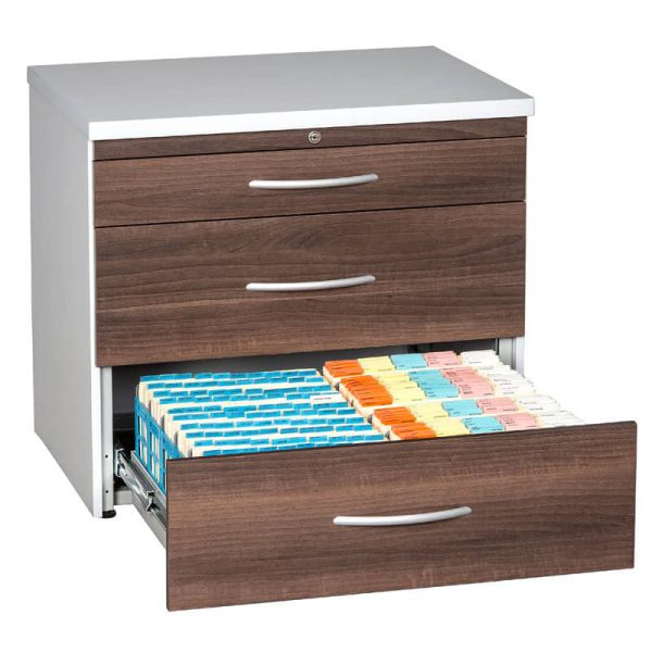 Top Retrieval Filing Cabinets-Plastic Containers