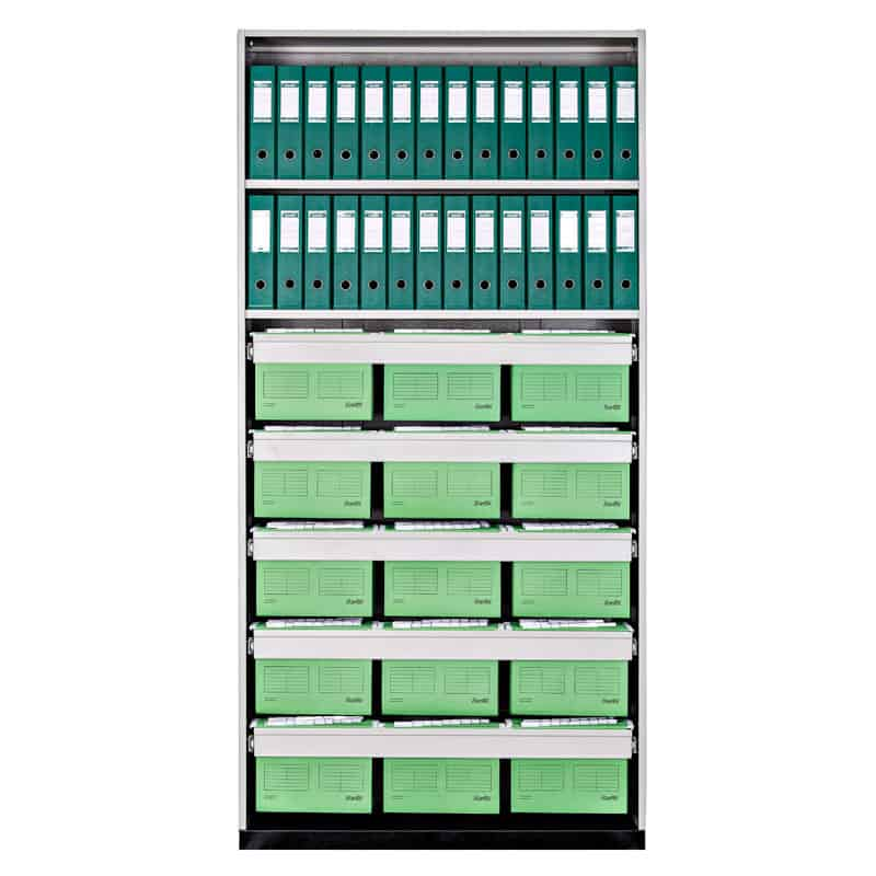 Walk In Filing Unit-A4 Suspension Files 1