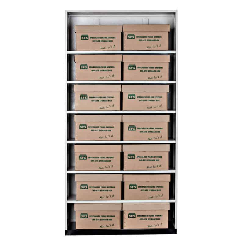 Walk In Filing Unit-Storage Boxes 1