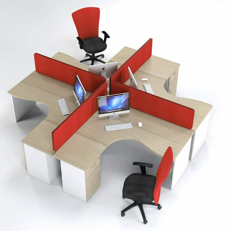 Inten Workstations – Red