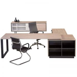 Elite L-Shaped Desk - Front