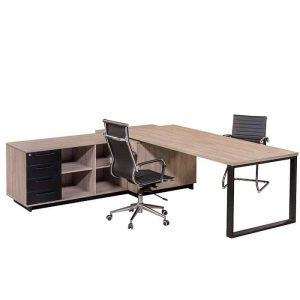 Elite L-Shaped Desk - Inside