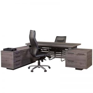 Tetrix L-Shaped Desk