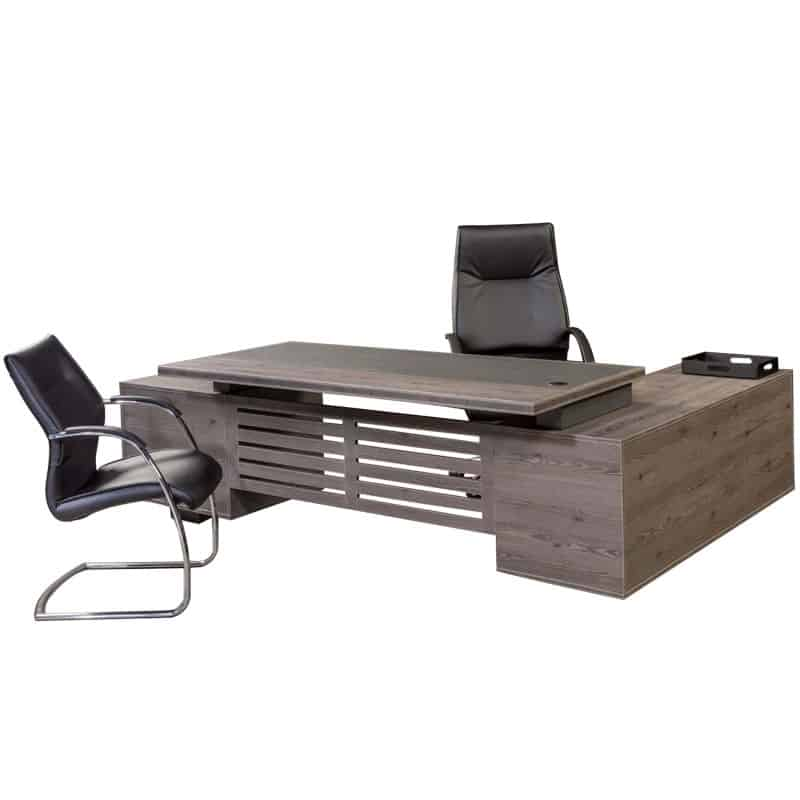 Tetrix L-Shaped Desk