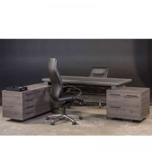 Tetrix L-shape Desk - Back
