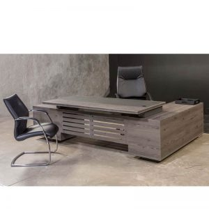 Tetrix L-shape Desk - Front
