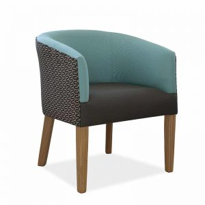 Vienna Tub Chair-Blue