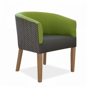Vienna Tub Chair-Green