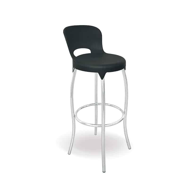 Asteroid Bar Chair – Black