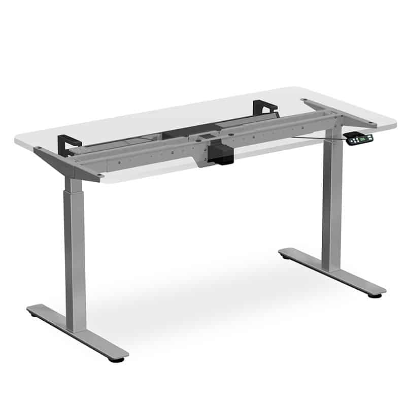 Height Adjustable Table – Clear Top