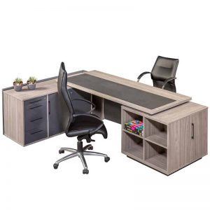 Nova L-Shaped Desk - Inside