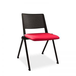 Revolution Interlinking Stacker Upholstered Chair