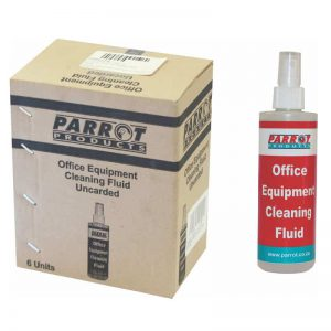 Cleaning Fluid Office Equipment 250ml Uncarded Box Of 6