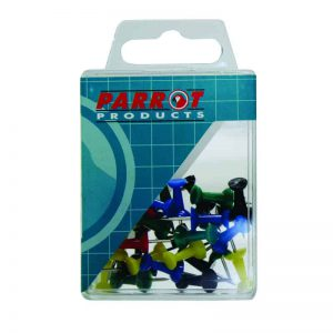 Push Pins Boxed Pack 30 Assorted