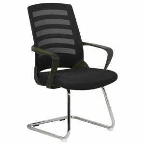 Black Night Visitors Chair