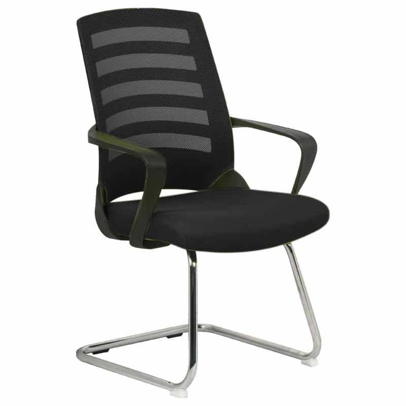 Black Nite Visitors Chair