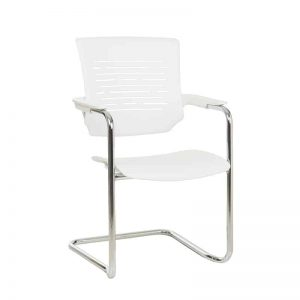 Chess Visitors Chair - White