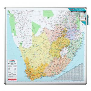 EDU BD Map South Africa Magnetic White