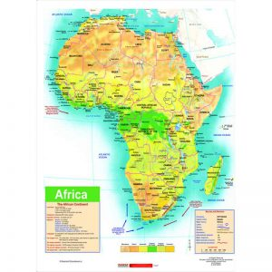 Map – Africa General Educational