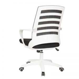 White Nite Operators Chair - Back