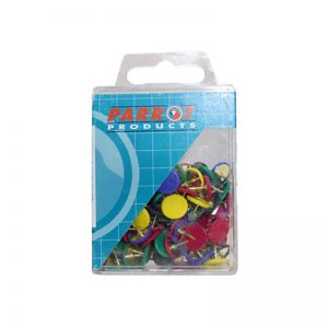 Drawing Pins Boxed Pack 100 Assorted
