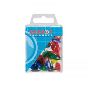 Hexagonal Pins Boxed 30 Assorted