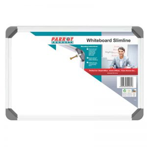 Whiteboard Slimline Non Magnetic