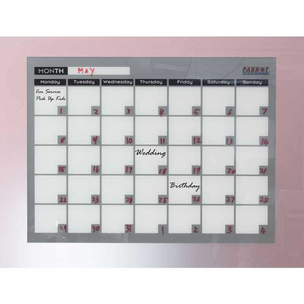 Monthly Planner Cast Acrylic