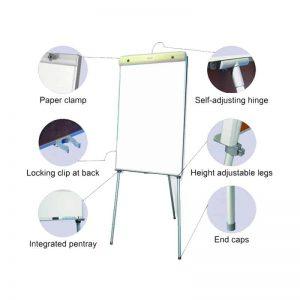 Flipchart Non Magnetic Standard