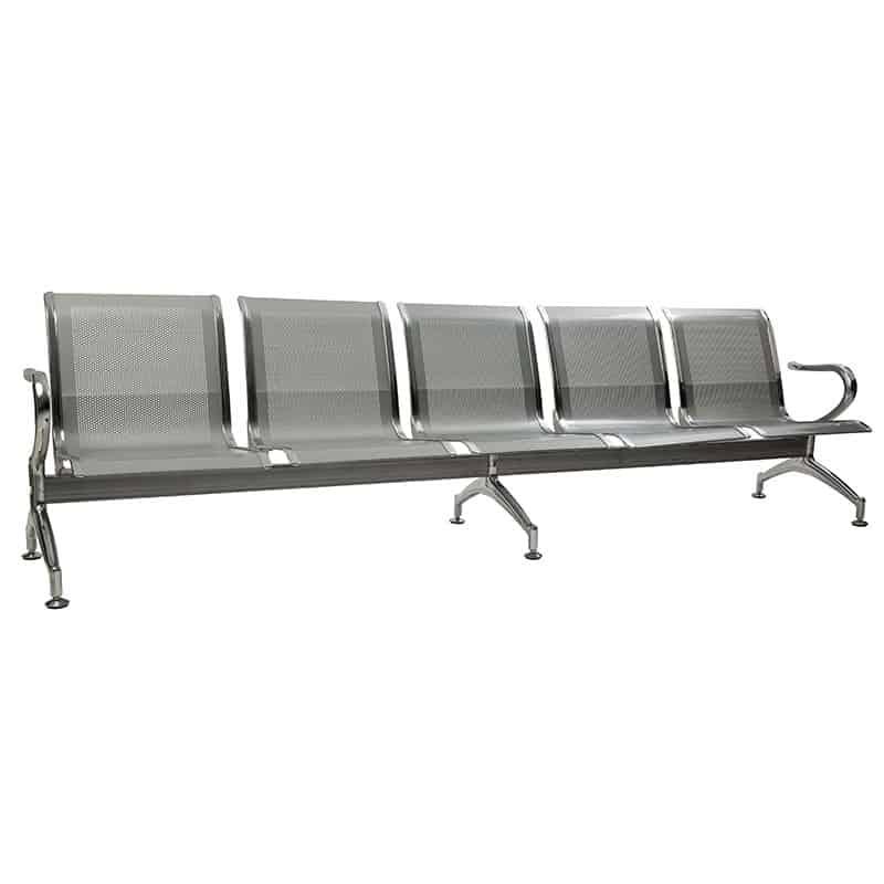 Silverline Heavy Duty Steel 5 Seater