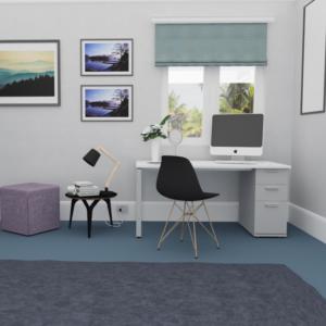 Slimline Home Desk