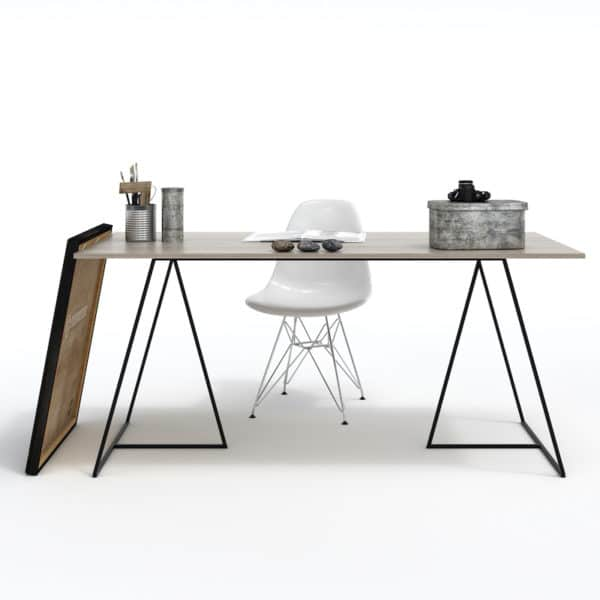 Trestle Sleek Desk